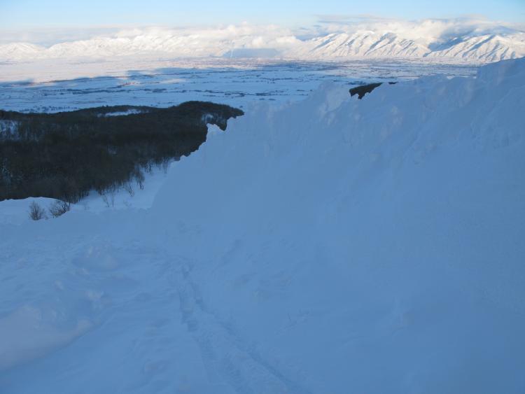 Avalanche: East Faces-Wellsville Range | Utah Avalanche Center